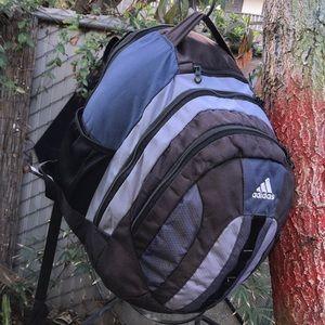 adidas Backpack Large Blue Black Laptop